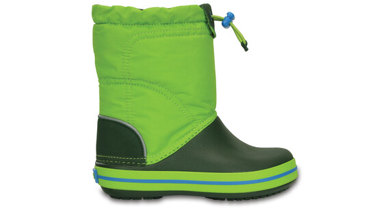Crocs Crocband LodgePoint Boots Kids Lime/Forest